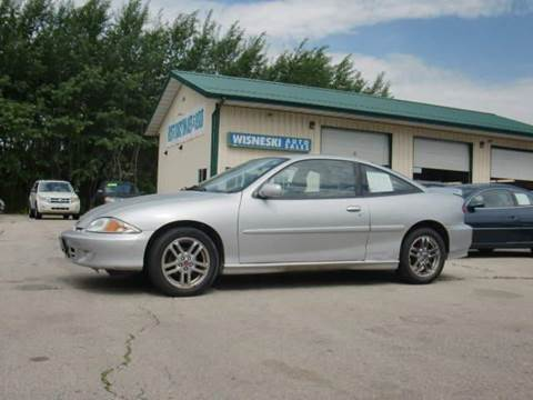 2002 Chevrolet Cavalier for sale at Wisneski Auto - Taylor St. in Green Bay WI