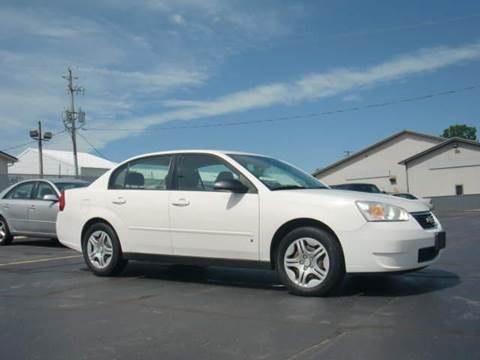 2007 Chevrolet Malibu for sale at Wisneski Auto - Packerland Dr. in Green Bay WI