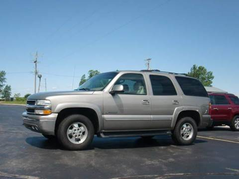 2002 Chevrolet Tahoe for sale at Wisneski Auto - Packerland Dr. in Green Bay WI