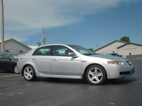 2004 Acura TL for sale at Wisneski Auto - Packerland Dr. in Green Bay WI