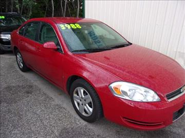 2008 Chevrolet Impala for sale at Wisneski Auto - Taylor St. in Green Bay WI