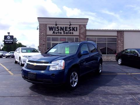 2008 Chevrolet Equinox for sale at Wisneski Auto - Packerland Dr. in Green Bay WI