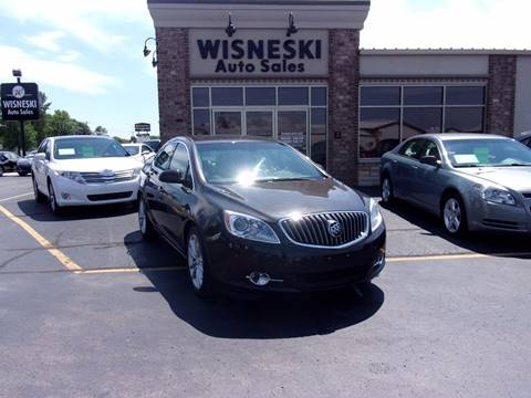 2012 Buick Verano for sale at Wisneski Auto - Packerland Dr. in Green Bay WI