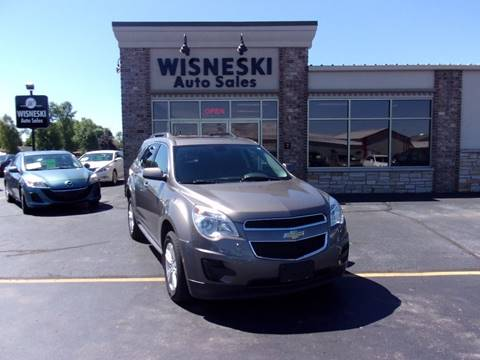 2011 Chevrolet Equinox for sale at Wisneski Auto - Packerland Dr. in Green Bay WI