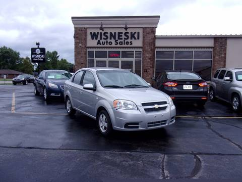 2007 Chevrolet Aveo for sale at Wisneski Auto - Packerland Dr. in Green Bay WI