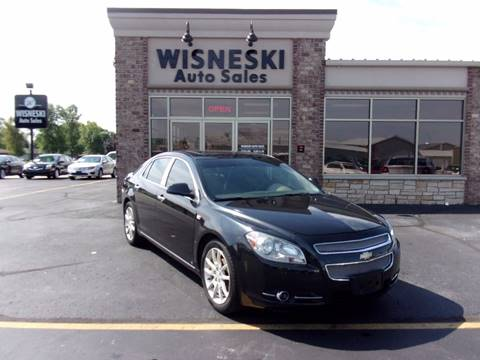2008 Chevrolet Malibu for sale at Wisneski Auto - Packerland Dr. in Green Bay WI