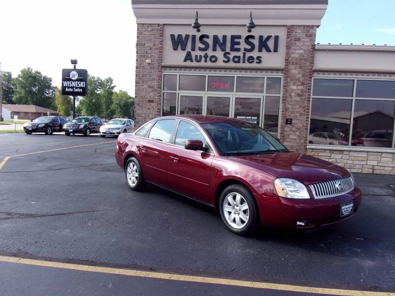 2005 Mercury Montego for sale at Wisneski Auto - Packerland Dr. in Green Bay WI