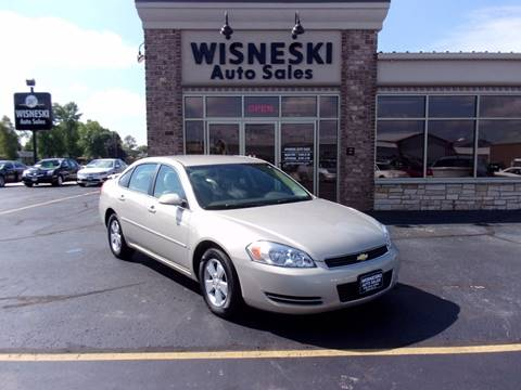 2008 Chevrolet Impala for sale at Wisneski Auto - Packerland Dr. in Green Bay WI