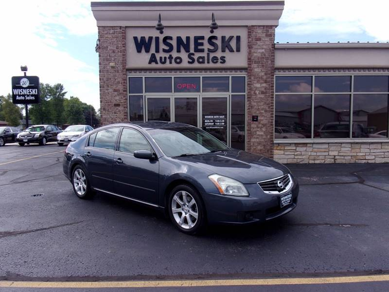2008 Nissan Maxima for sale at Wisneski Auto - Packerland Dr. in Green Bay WI