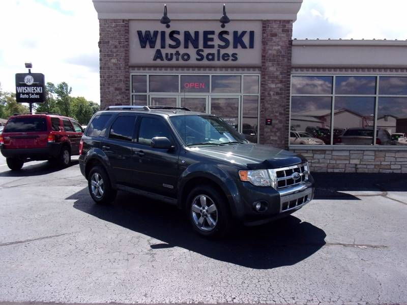 2008 Ford Escape for sale at Wisneski Auto - Packerland Dr. in Green Bay WI