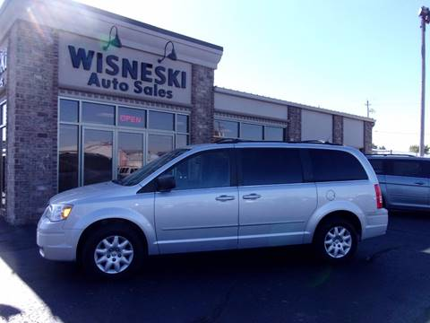 2010 Chrysler Town and Country for sale at Wisneski Auto - Packerland Dr. in Green Bay WI