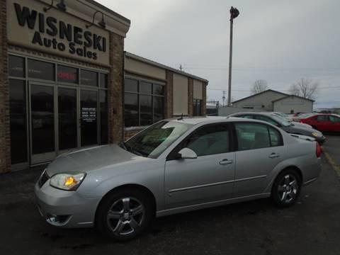 2006 Chevrolet Malibu LTZ for sale at Wisneski Auto Sales, Inc. in Green Bay WI