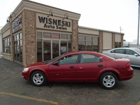 2003 Dodge Stratus SE for sale at Wisneski Auto Sales, Inc. in Green Bay WI