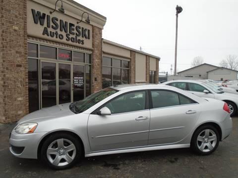 2009 Pontiac G6 Value Leader for sale at Wisneski Auto Sales, Inc. in Green Bay WI