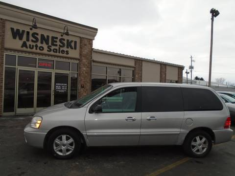 2004 Mercury Monterey Convenience for sale at Wisneski Auto Sales, Inc. in Green Bay WI