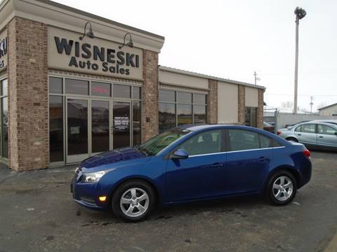2012 Chevrolet Cruze LT for sale at Wisneski Auto Sales, Inc. in Green Bay WI