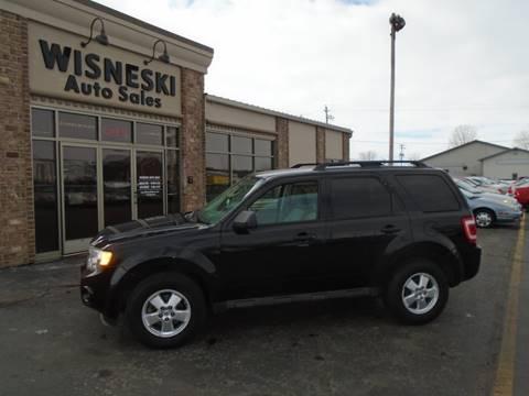 2011 Ford Escape XLT for sale at Wisneski Auto Sales, Inc. in Green Bay WI