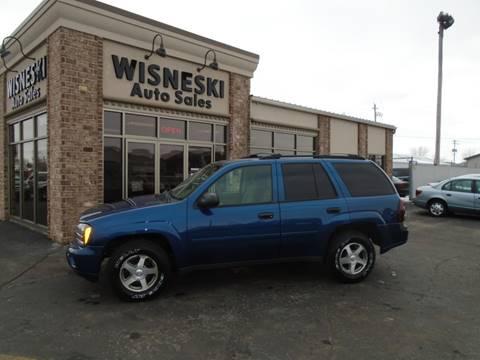 2006 Chevrolet TrailBlazer LS for sale at Wisneski Auto Sales, Inc. in Green Bay WI