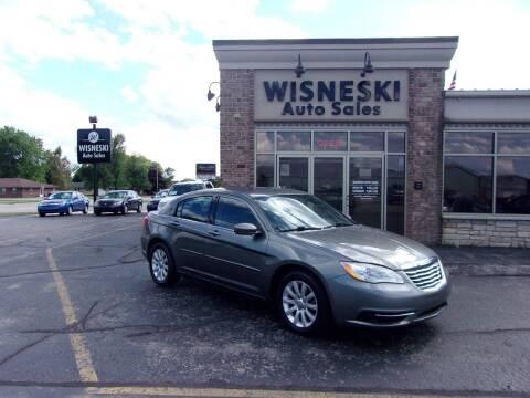 2012 Chrysler 200 for sale at Wisneski Auto Sales, Inc. in Green Bay WI