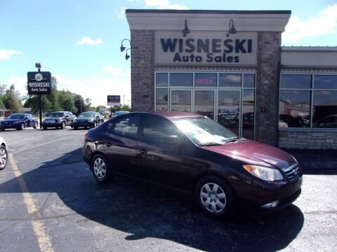 2008 Hyundai Elantra for sale at Wisneski Auto Sales, Inc. in Green Bay WI