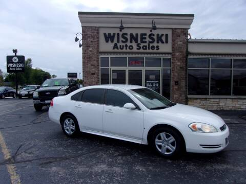 2010 Chevrolet Impala for sale at Wisneski Auto Sales, Inc. in Green Bay WI