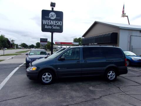 2004 Pontiac Montana for sale at Wisneski Auto Sales, Inc. in Green Bay WI
