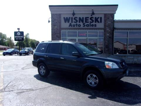 2005 Honda Pilot for sale at Wisneski Auto Sales, Inc. in Green Bay WI