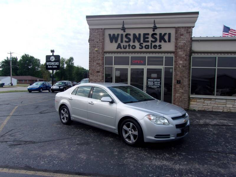 2012 Chevrolet Malibu for sale at Wisneski Auto Sales, Inc. in Green Bay WI