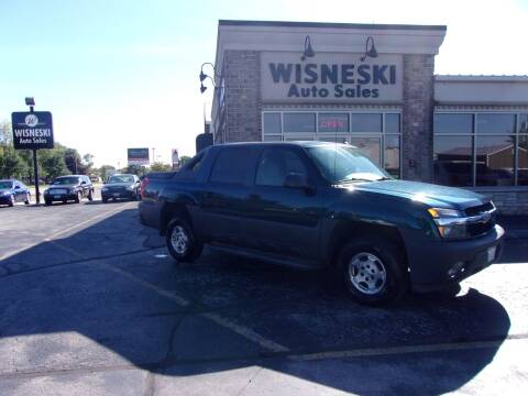 2005 Chevrolet Avalanche for sale at Wisneski Auto Sales, Inc. in Green Bay WI