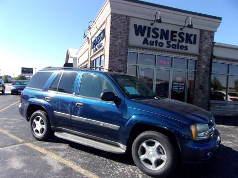 2003 Chevrolet TrailBlazer for sale at Wisneski Auto Sales, Inc. in Green Bay WI