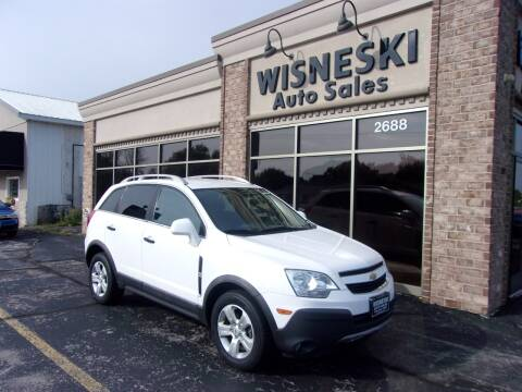 2013 Chevrolet Captiva Sport for sale at Wisneski Auto Sales, Inc. in Green Bay WI