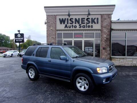 2002 Nissan Pathfinder for sale at Wisneski Auto Sales, Inc. in Green Bay WI