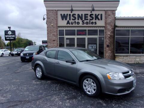2012 Dodge Avenger for sale at Wisneski Auto Sales, Inc. in Green Bay WI