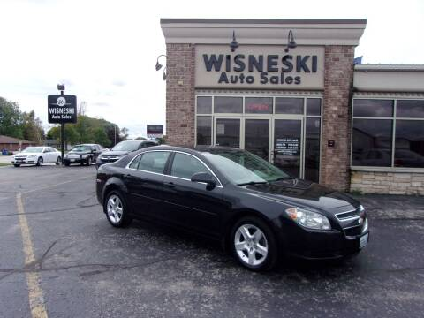 2012 Chevrolet Malibu for sale at Wisneski Auto Sales, Inc. in Green Bay WI