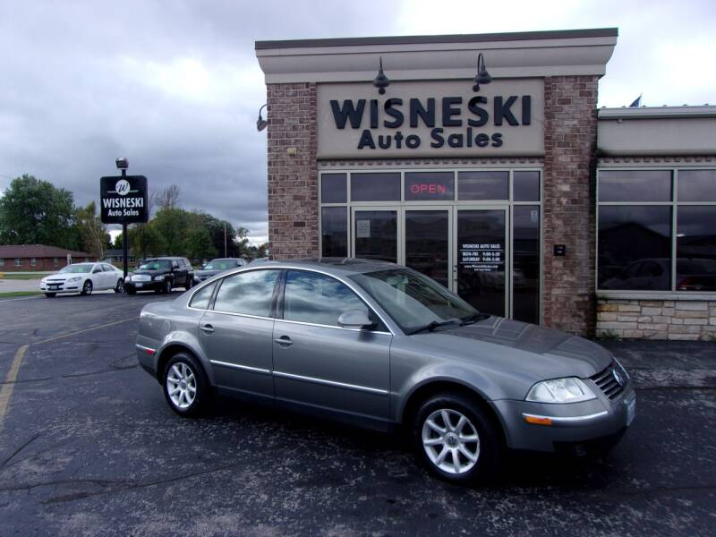 2004 Volkswagen Passat for sale at Wisneski Auto Sales, Inc. in Green Bay WI