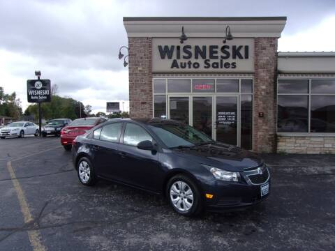 2014 Chevrolet Cruze for sale at Wisneski Auto Sales, Inc. in Green Bay WI