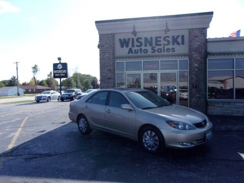 2004 Toyota Camry for sale at Wisneski Auto Sales, Inc. in Green Bay WI