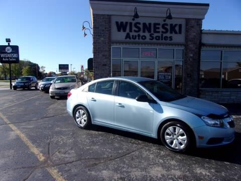 2012 Chevrolet Cruze for sale at Wisneski Auto Sales, Inc. in Green Bay WI