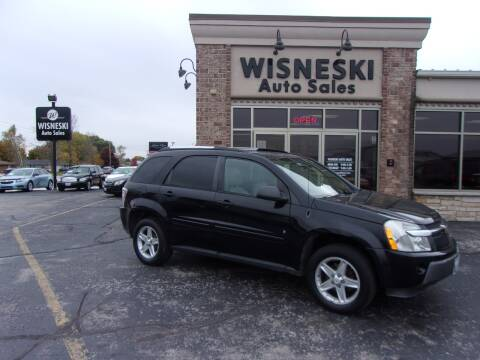 2006 Chevrolet Equinox for sale at Wisneski Auto Sales, Inc. in Green Bay WI