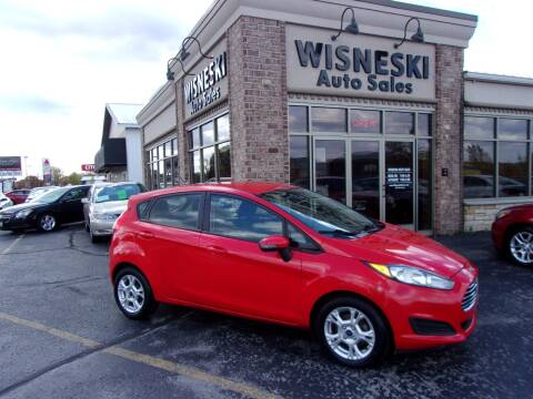 2014 Ford Fiesta for sale at Wisneski Auto Sales, Inc. in Green Bay WI