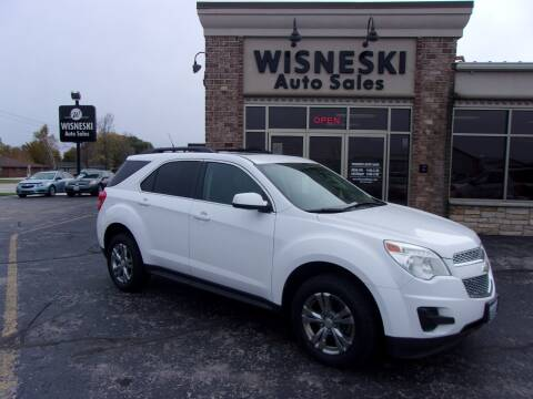2011 Chevrolet Equinox for sale at Wisneski Auto Sales, Inc. in Green Bay WI