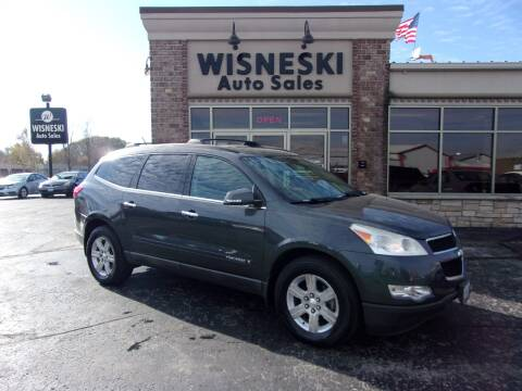 2009 Chevrolet Traverse for sale at Wisneski Auto Sales, Inc. in Green Bay WI