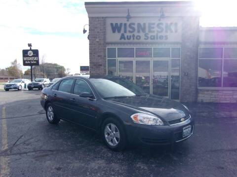 2008 Chevrolet Impala for sale at Wisneski Auto Sales, Inc. in Green Bay WI
