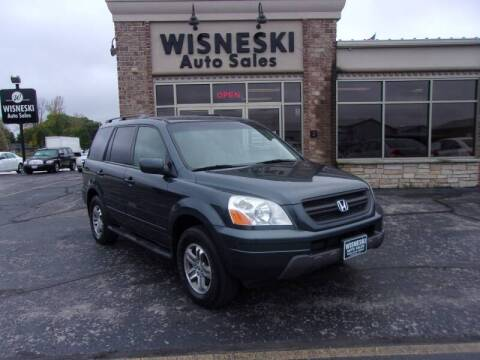 2004 Honda Pilot for sale at Wisneski Auto Sales, Inc. in Green Bay WI
