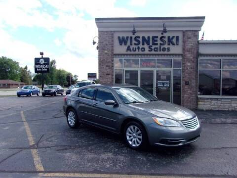 2012 Chrysler 200 for sale at Wisneski Auto Sales, Inc. in Green Bay WI