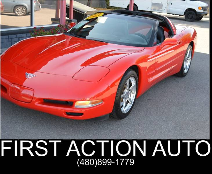 2003 Chevrolet Corvette 2dr Coupe - Chandler AZ