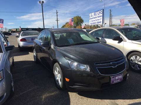2012 Chevrolet Cruze for sale in Mandan, ND