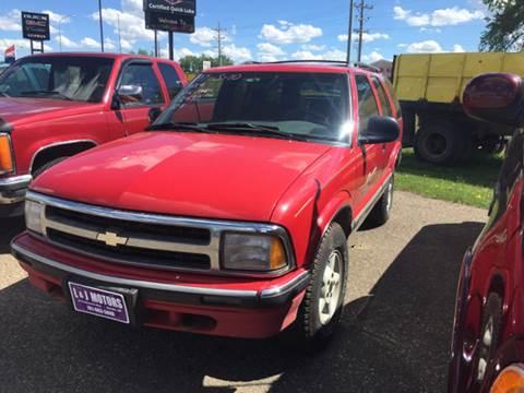 1997 Chevrolet Blazer for sale at L & J Motors in Mandan ND