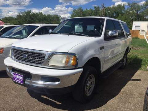 1998 Ford Expedition for sale at L & J Motors in Mandan ND
