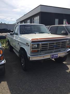 1985 Ford F 250 For Sale In Mandan ND